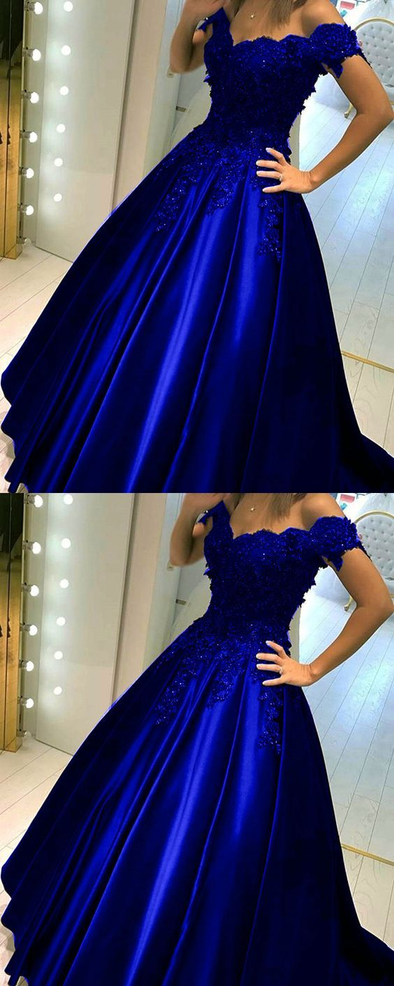 Royal blue quinceanera dressesroyal blue prom dressball gowns prom