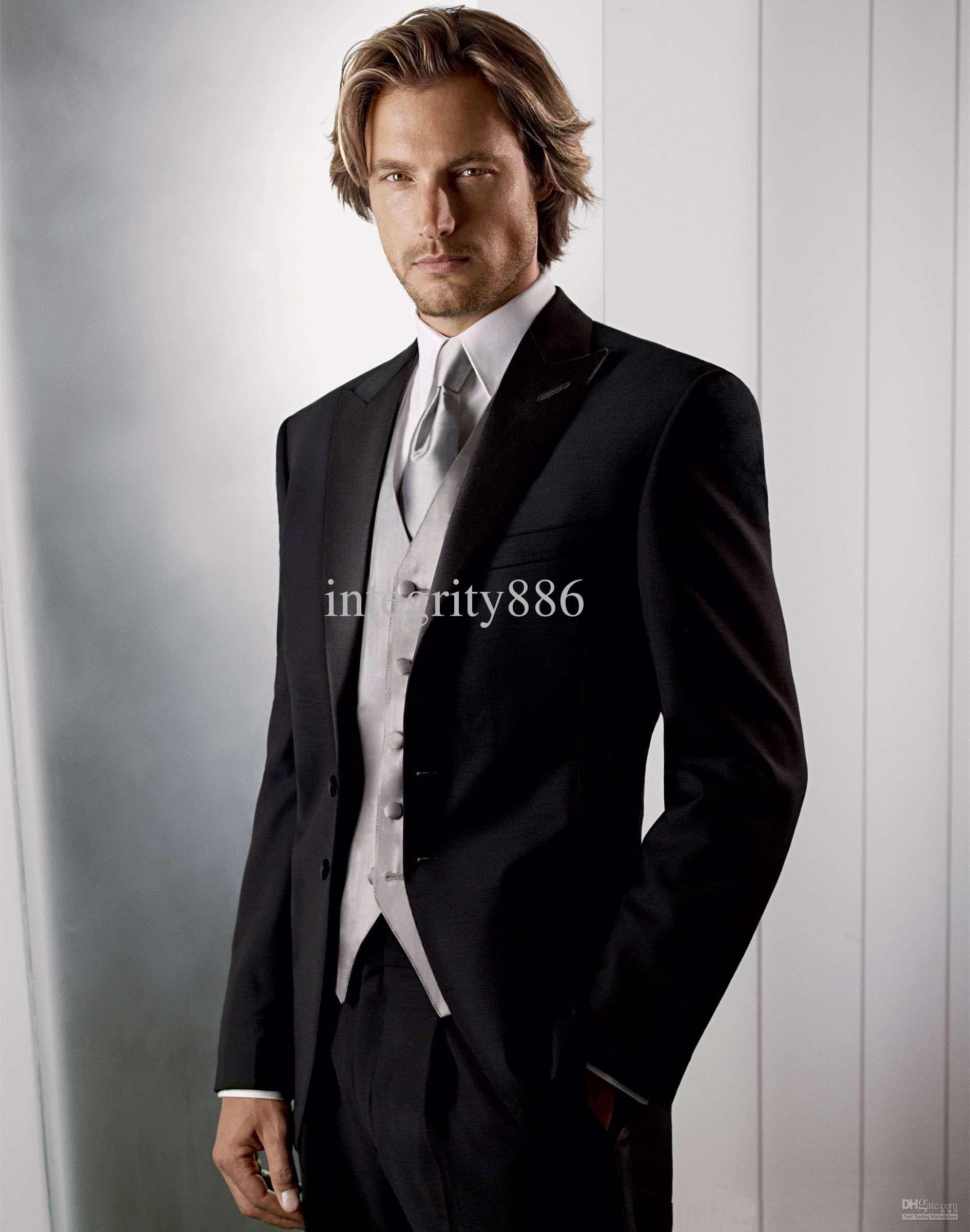 2012-- Best Quality Men Wedding/prom Dresses Groom Tuxedos Suit ...