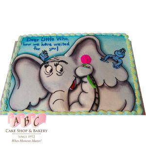 Horton Hears A Who Baby Shower Sheet Cake. U003c3 Dr. Seuss
