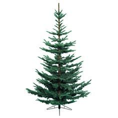 Everlands 7ft Nobilis Fir Artificial Christmas Tree - Blue