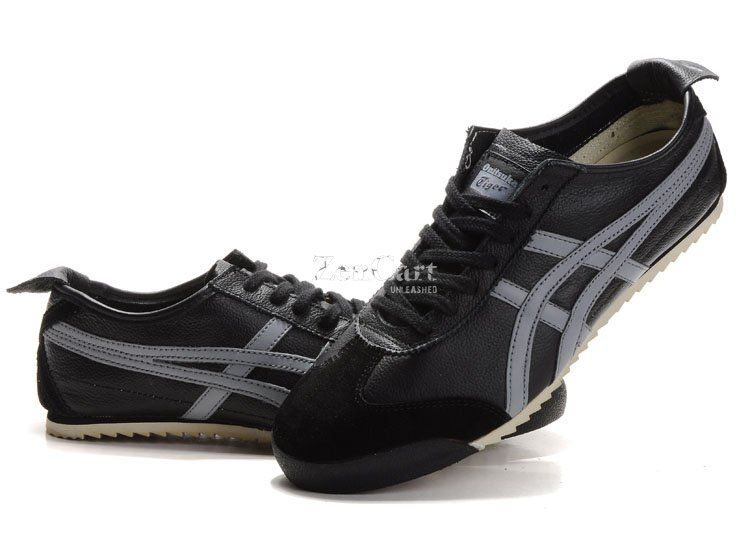 separation shoes 08a9c 90080 Onitsuka Tiger Mexico 66 Deluxe Black/Gray | OT in 2019 ...