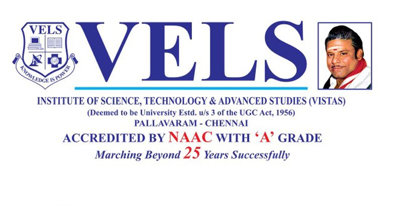 V-SAT, THE SCHOLARSHIP ADMISSION TEST CONDUCTED BY VELS UNIVERSITY PALLAVARAM