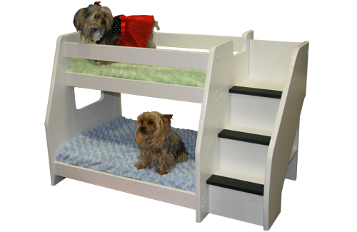 Bunk beds for dogs on pinterest dog bunk beds bunk bed for Pet bunk bed gallery
