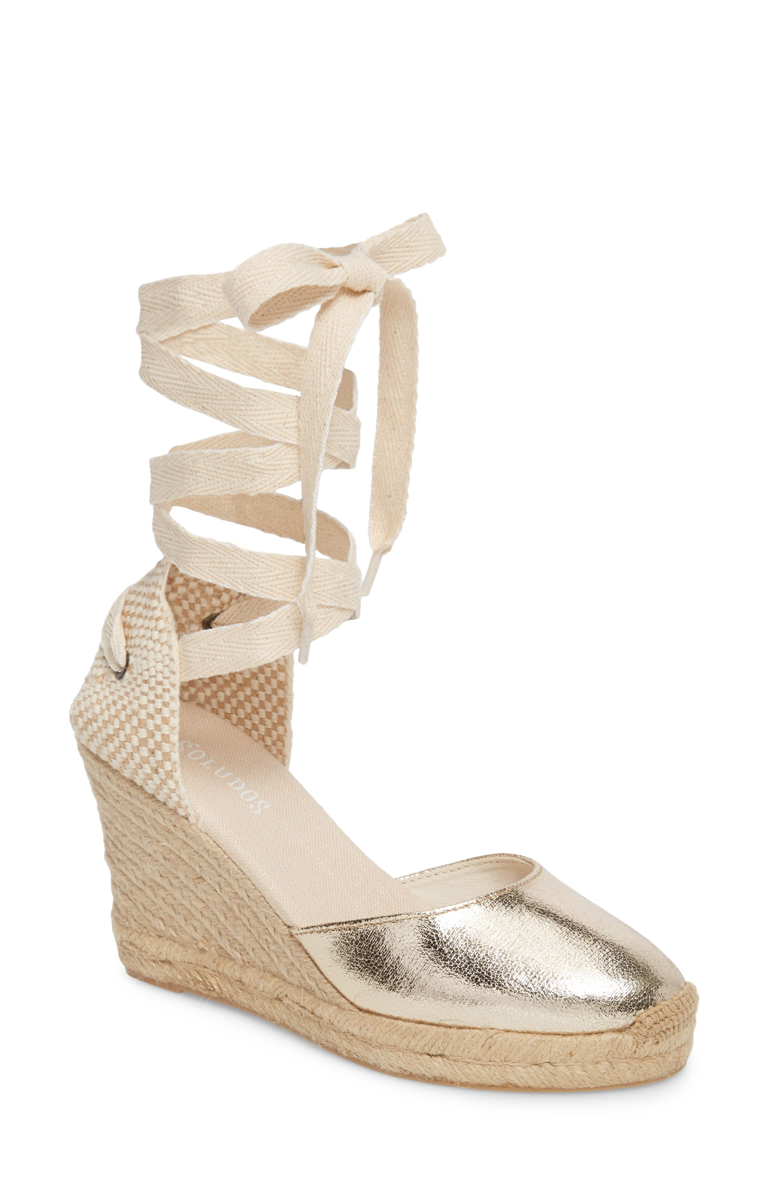 31986b81fc7 Buy SOLUDOS Wedge Lace-Up Espadrille Sandal online. New SOLUDOS Sandals.    94.95