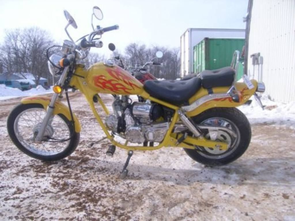 JOHNNY PAG MOPED | Transportation | Mini chopper, Motorcycle
