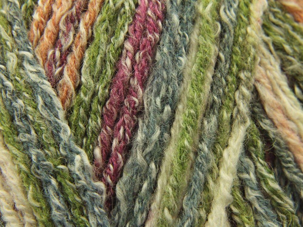 Crofter DK is a standard yarn spray dyed with a Fair Isle effect ...