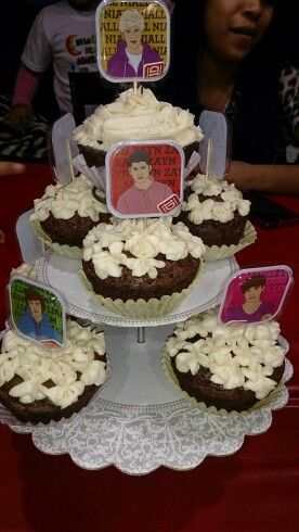 First Cupcakes I Made Of One Direction