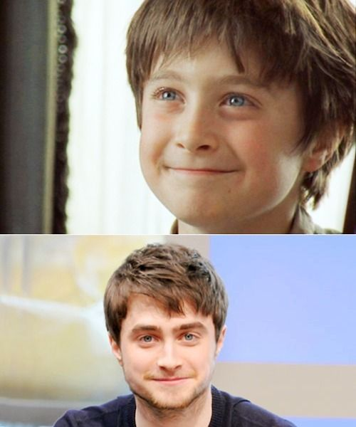 Harry Potter Vs Twilight Photo Then And Now Harry Potter Actors Harry Potter Pictures Harry James Potter