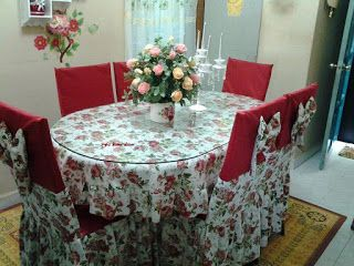 Home Decor Set Kerusi Meja Makan