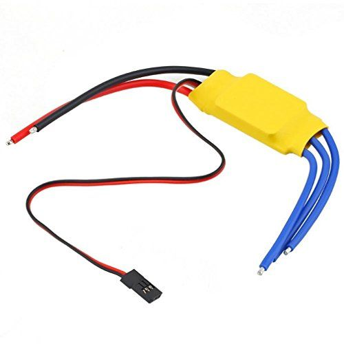 RipaFire 30A Brushless Motor ESC Speed Controller for RC