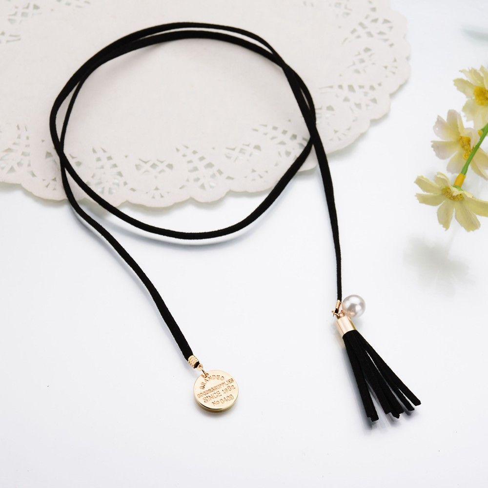 Vintage Black Velvet Chokers Necklace