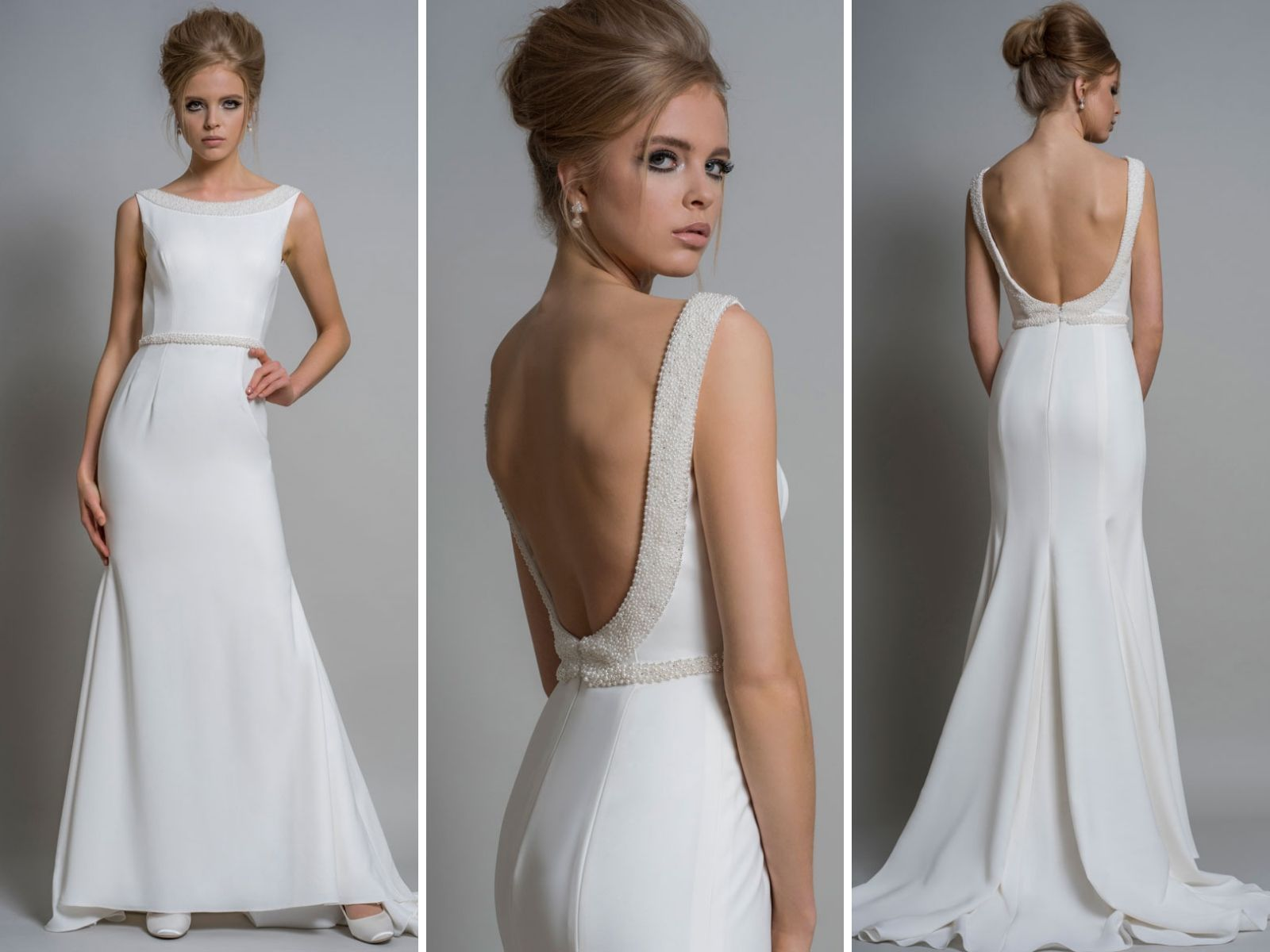 We find that our lovely 'pearshaped' boho brides that