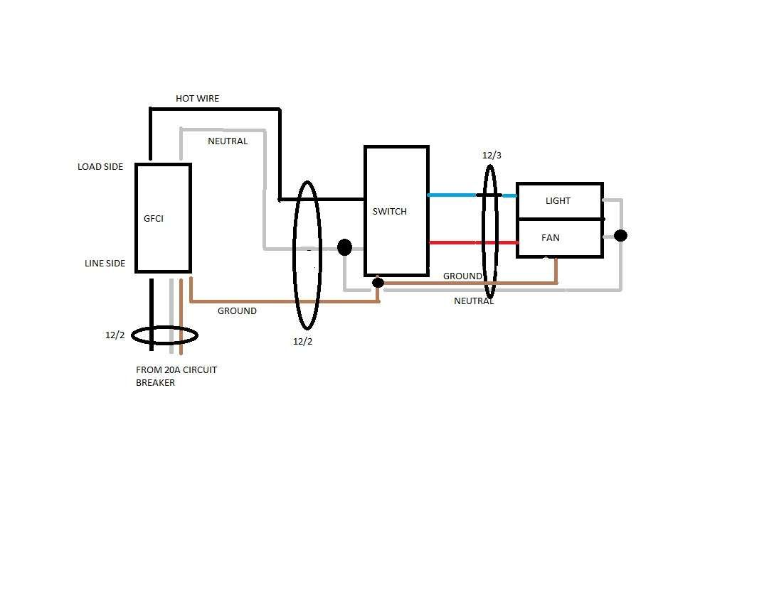 Wiring Diagram Bathroom. Lovely Wiring Diagram Bathroom