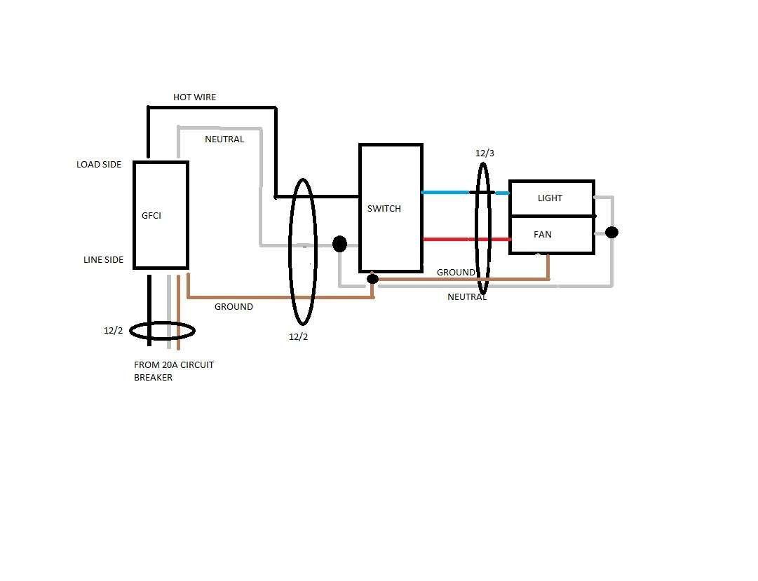 Wiring Diagram Bathroom Fan