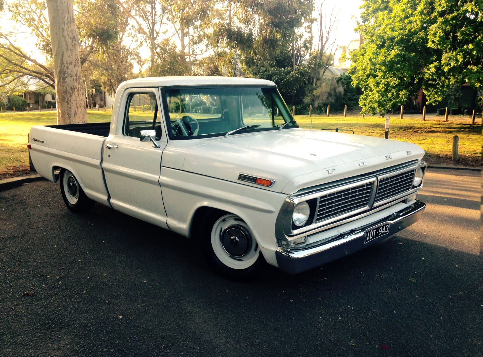 lowered 70s ford pickups