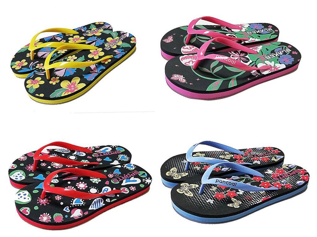 58dced336f79e NEW PRICE   STOCKLOT LADIES EVA FLIP FLOPS ! Fabric or Material  Sole  EVA
