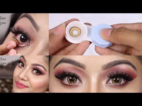 How To Put On Contact Lenses And Remove Tips On How To Store Contact Lenses Youtube Contact Lenses Contact Lenses Tips Contact Lenses Colored