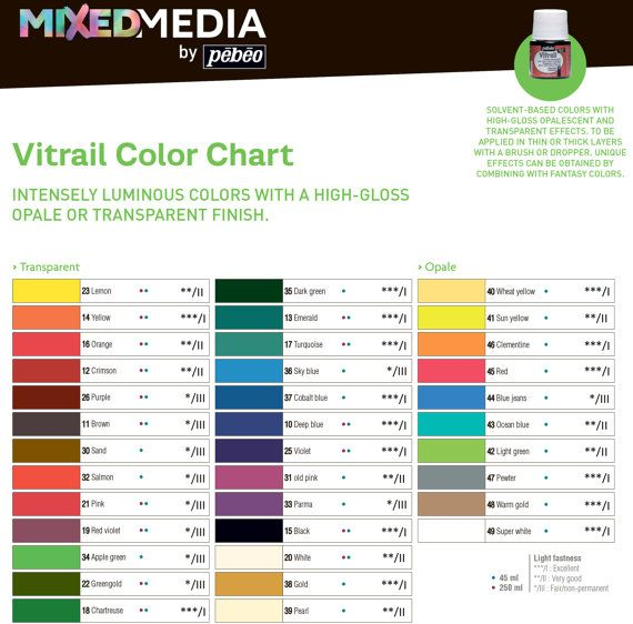 Pebeo vitrail 19 red violet color imitation of stained for Solvent based glass paint