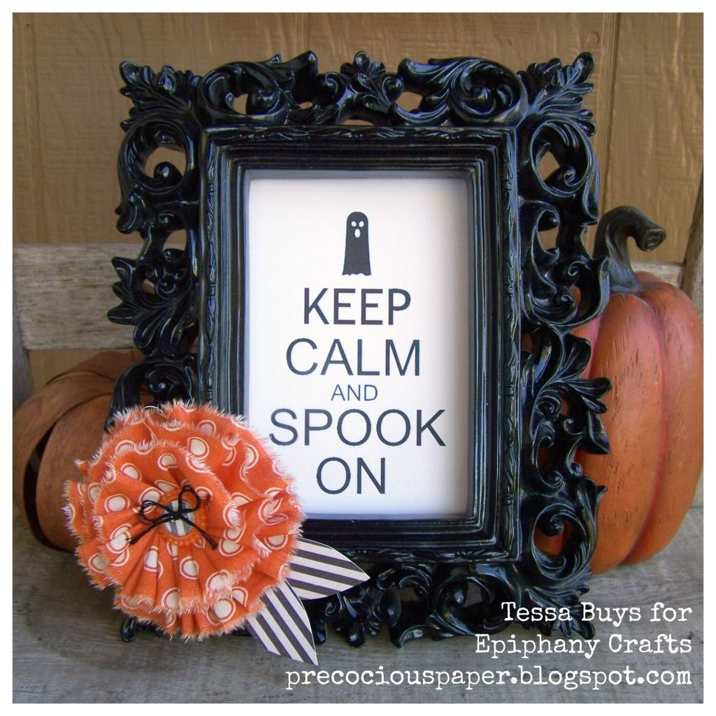 Halloween frame by @Tessa Buys with the #epiphanycrafts Shape Studio ...