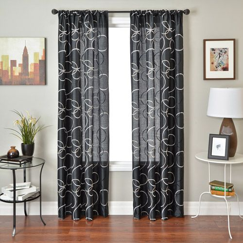 Colchester Ave Kora Rod Pocket Curtain Panel But In Spa Blue For Living Room And Dinning Room With Images Panel Curtains Curtains Rod Pocket Curtain Panels