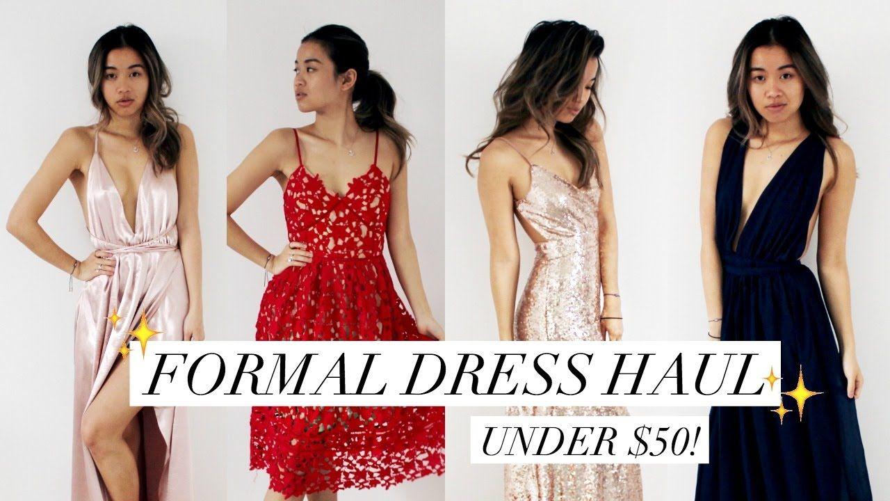 Affordable promformal dress haul review under rachspeed