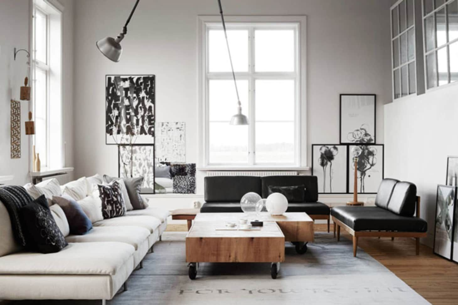 How To Set Up Your Living Room Without A Focus On The Tv Rustic Industrial Living Room Industrial Decor Living Room Living Room Interior