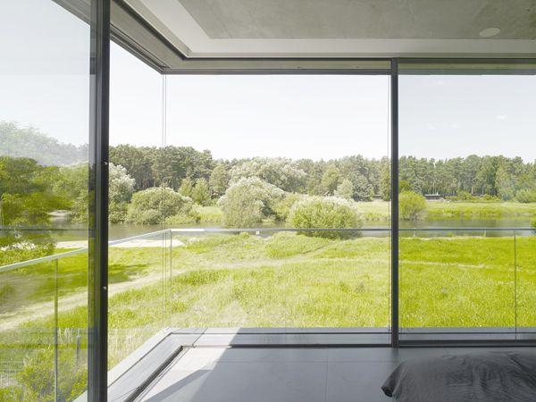 Rahmenlose schiebefenster burckhardt s soreg glide system 150 schiebefenster architektur - Bodentiefe schiebefenster ...