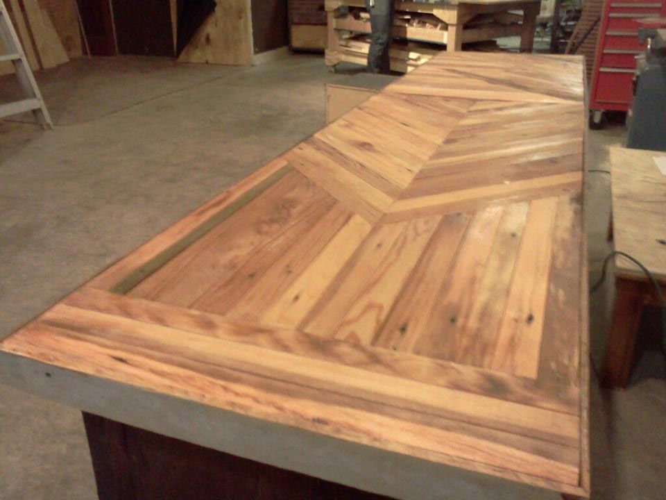 Best Odd Finish For A Pine Kitchen Table