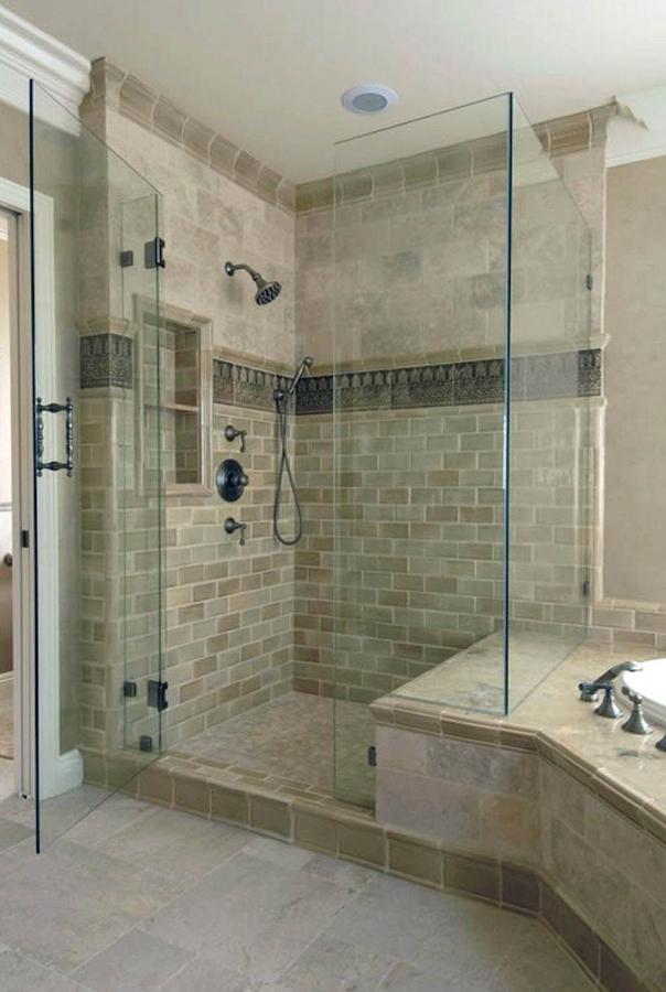 pretty shower tile ideas lowes