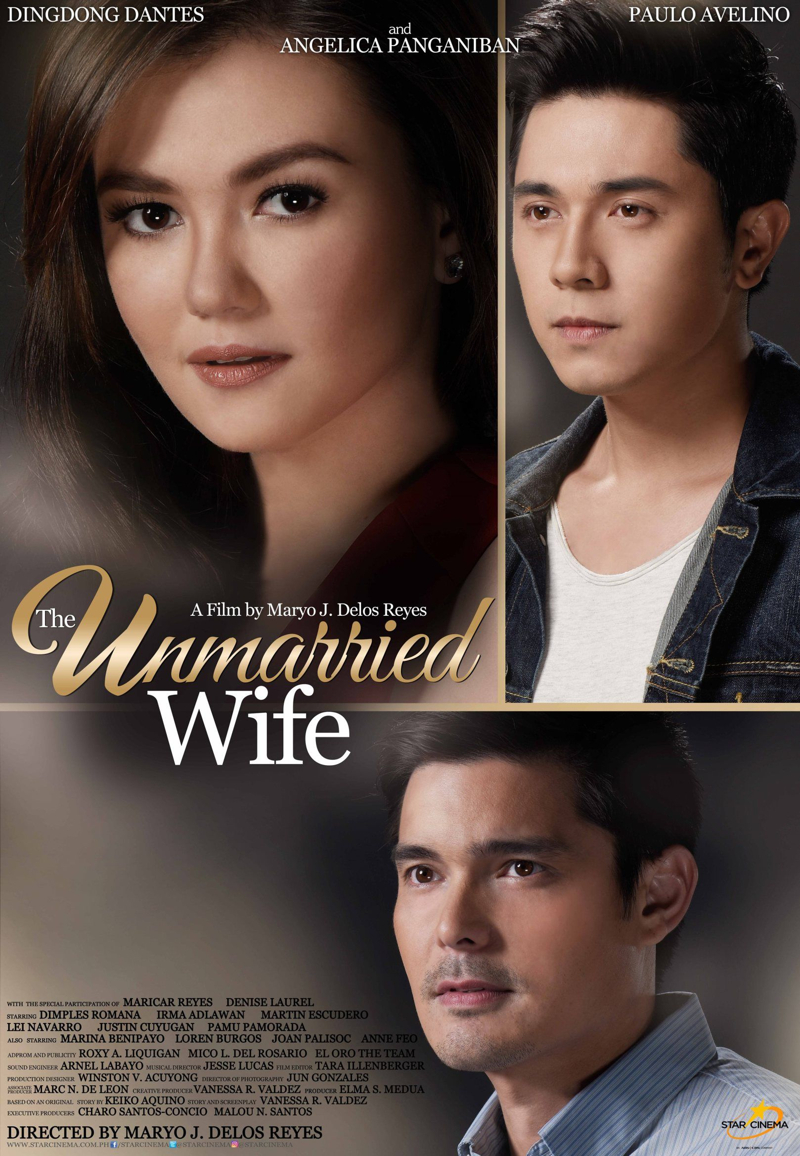 The Unmarried Wife 2016 Starring Dingdong Dantes Paulo Avelino Angelica Panganiban Pinoy Movies Wife Movies Movies Online