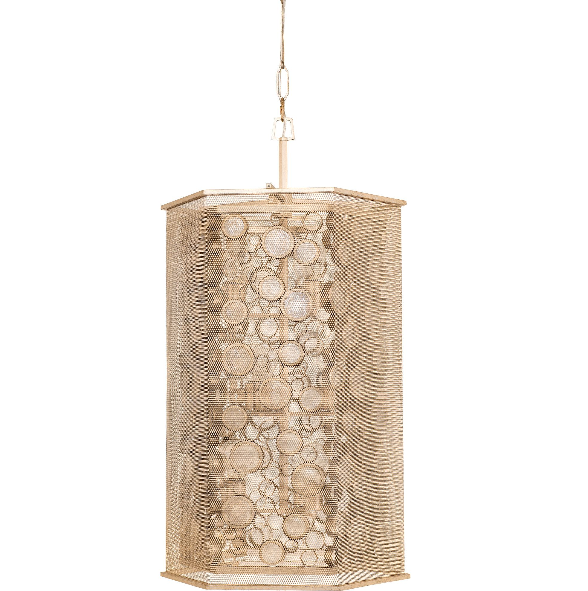 Fascination hex light foyer pendant pendants and products