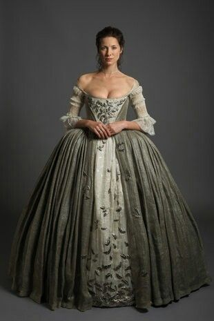 Outlander Wedding Claire Beauchamp Fraser Dress