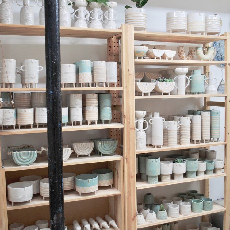 Atelier Stella Baggott Brighton Ceramic Shop Pottery Shop Pottery Store
