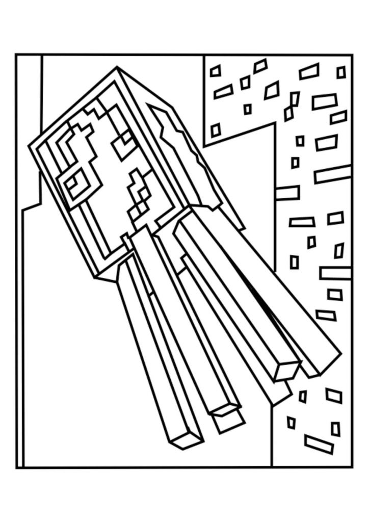 Minecraft Pig Coloring Pages Colouring Sheet Page 40 Printable Of