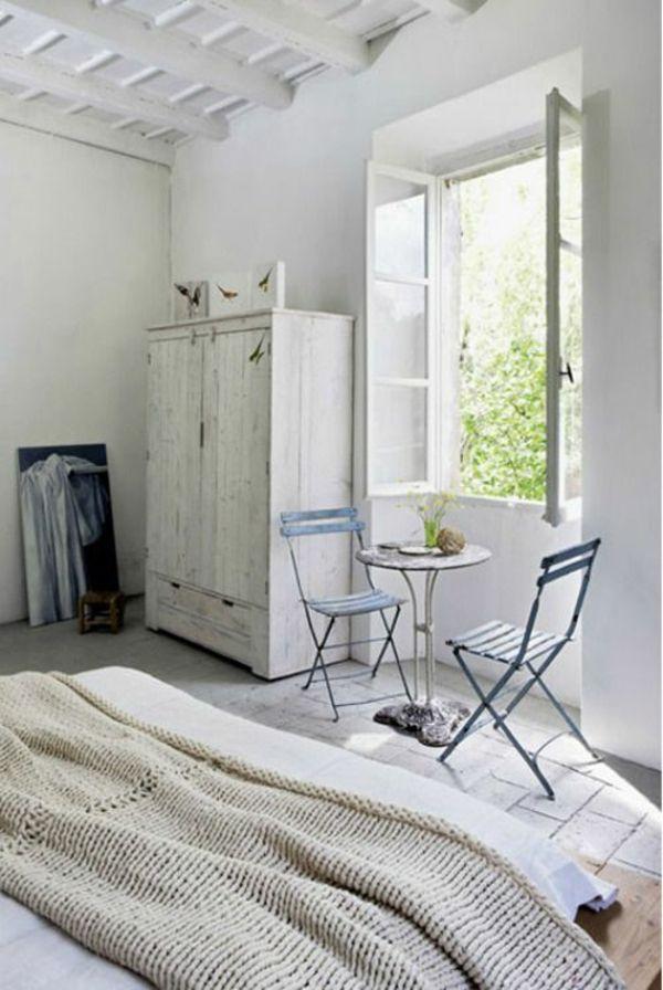 massive landhausmöbel weiß einrichtung frühstücksecke | Einrichtung ...