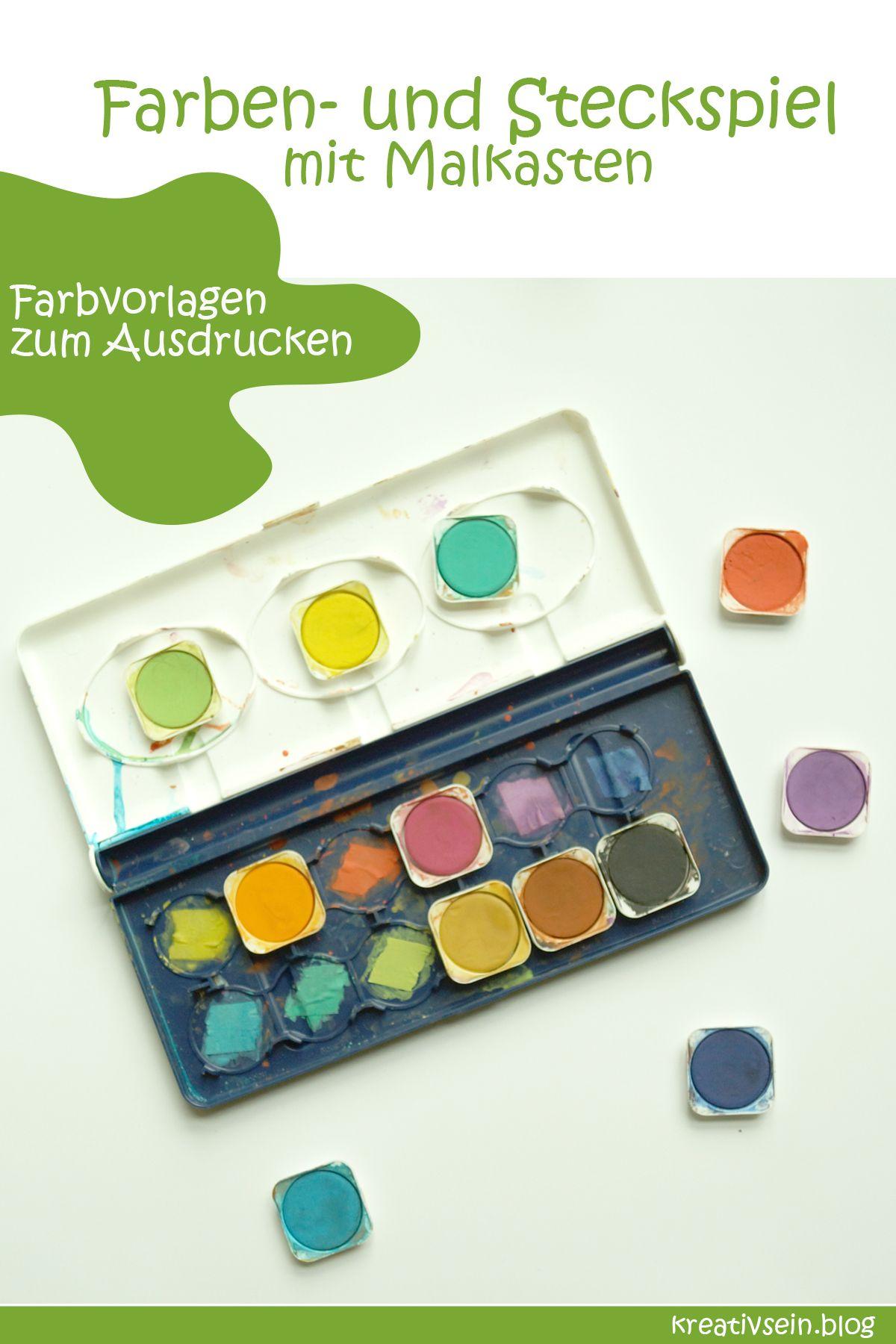 7 Tolle Spiele Zum Farben Lernen Farben Lernen Tolle Spiele Und