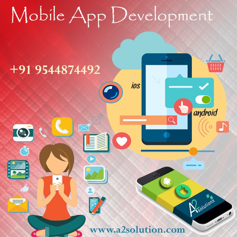 Pin by a2solutionIndia on Mobile App Development Company