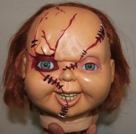 easy to do chucky makeup  google search  halloween