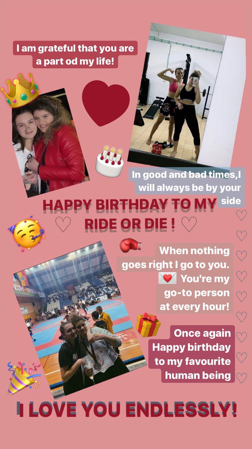 For Best Friend In 2020 Instagram Story Ideas My Ride Or Die