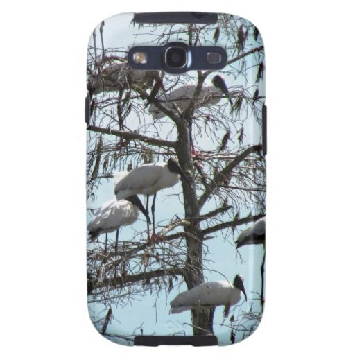 Wood Stork Galaxy SIII Cover -View at Zazzle.com