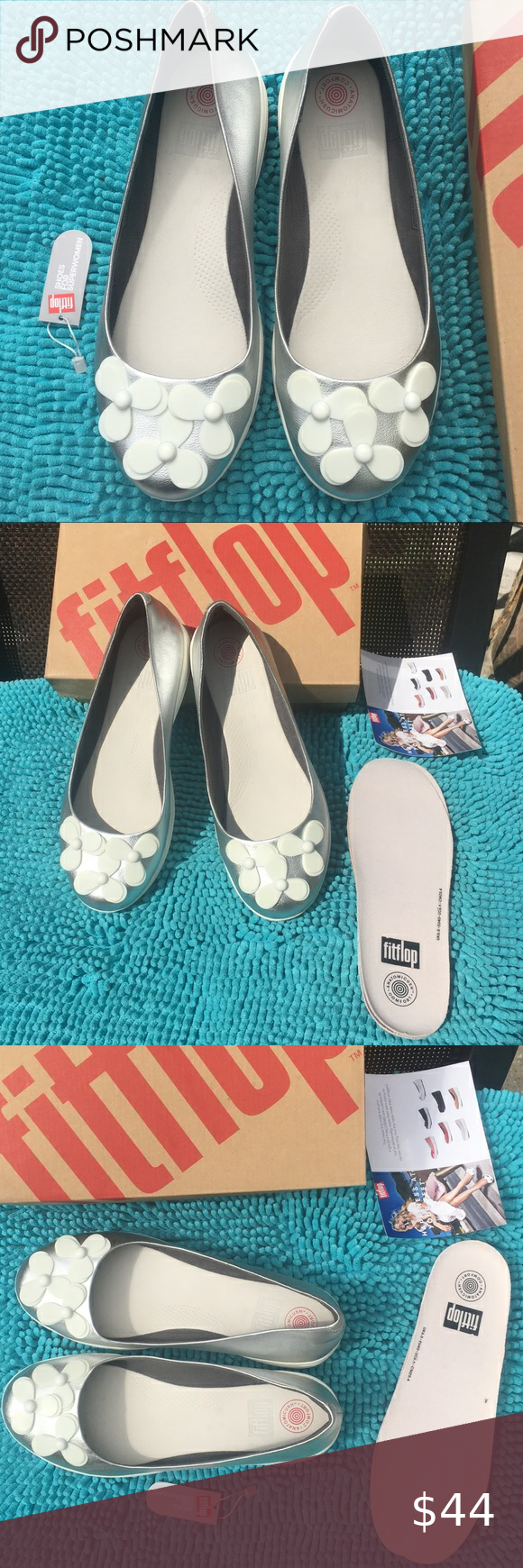 NEw Fitflop F-Sporty Ballerina Flats in