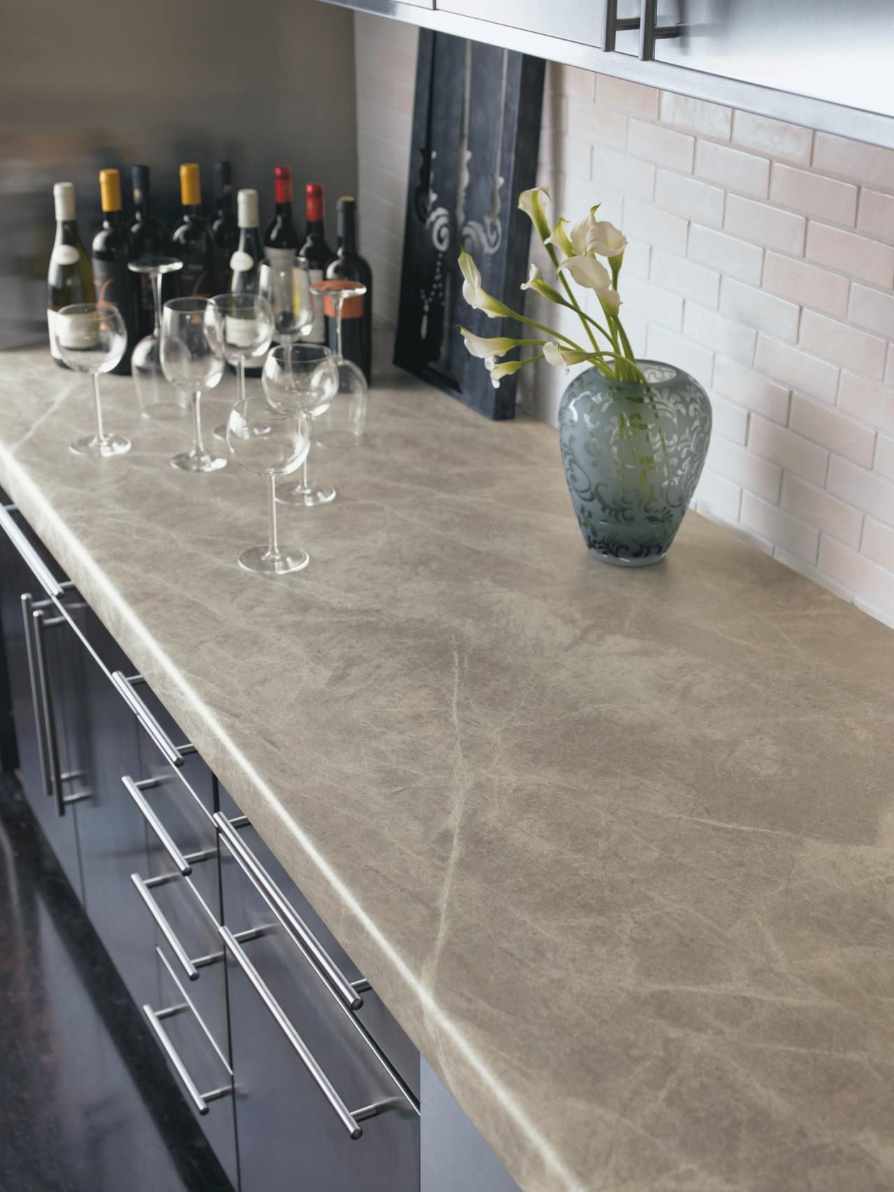 Versus Steep Kitchen Countertops