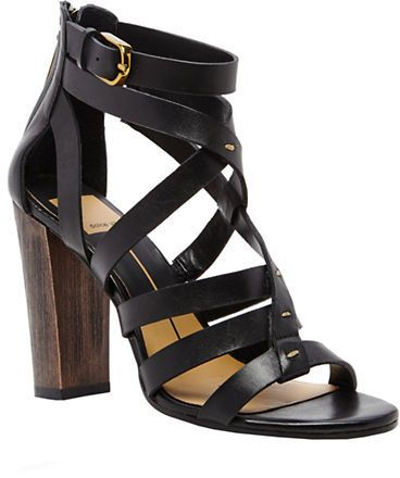 f80a3e3e599 Leather · Dolce Vita Nolin Leather Strappy Open-Toe Sandals