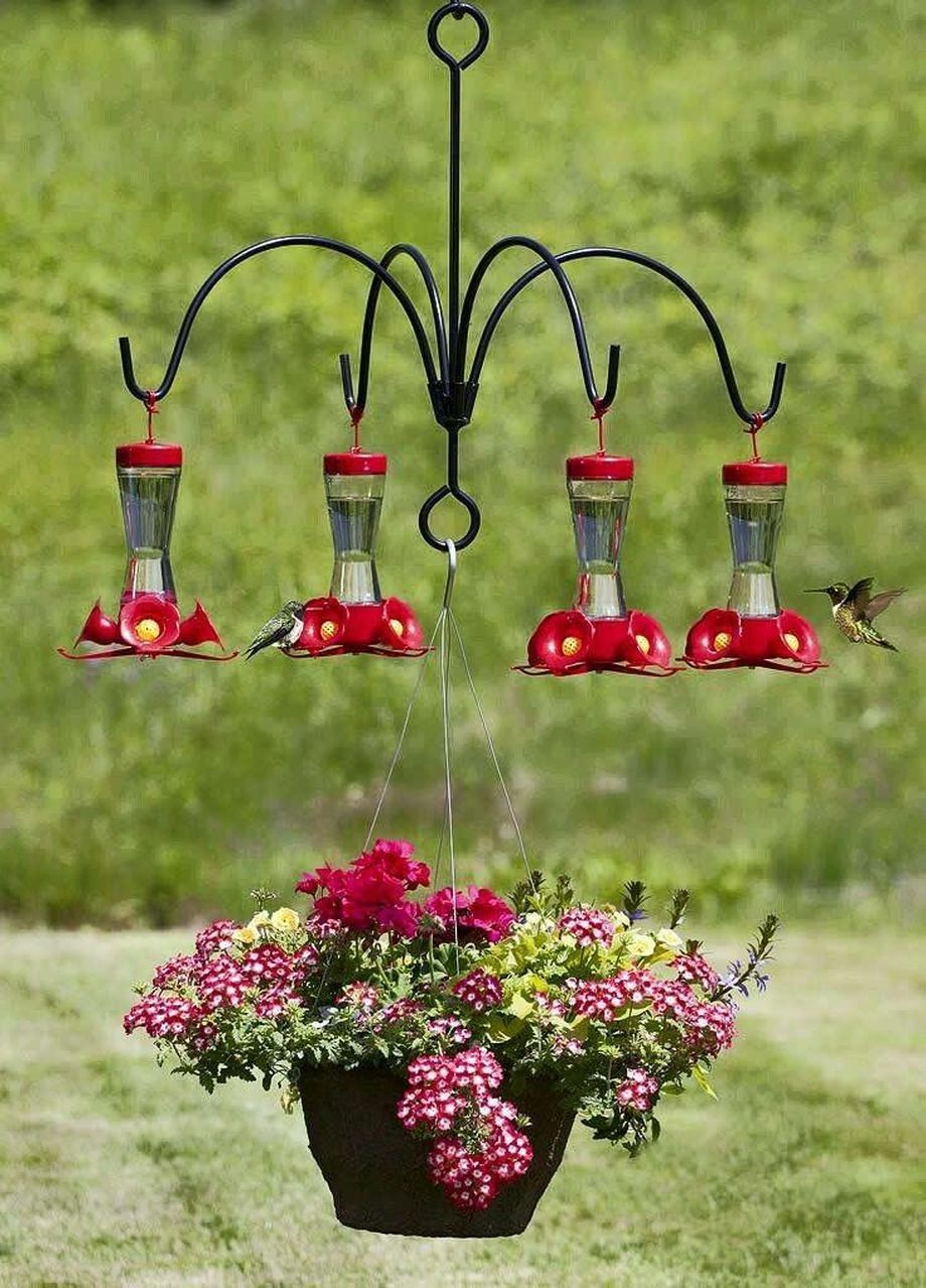 40 Creative Diy Chandelier Hummingbird Feeder Ideas Pajaros De Jardin Comederos De Colibris Ideas De Jardineria