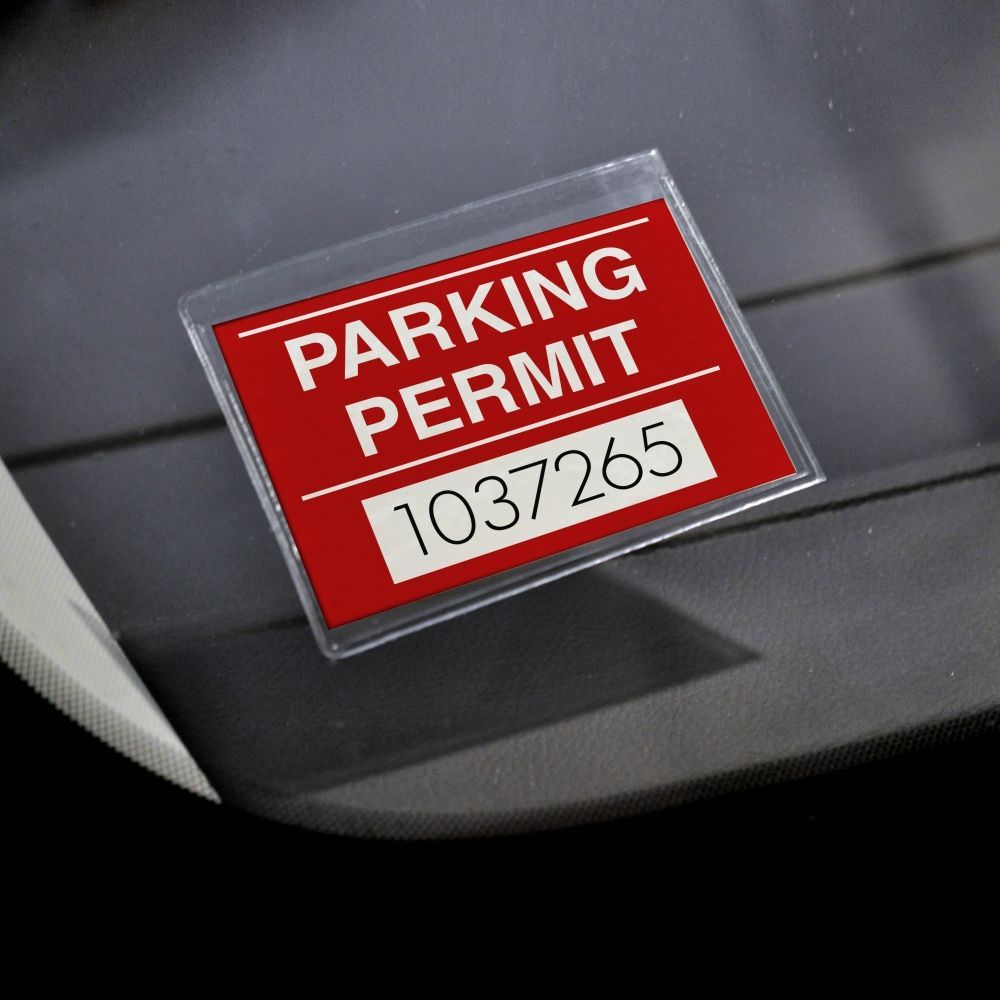 Adhesive Parking Permit Holders for Windshields in 2020