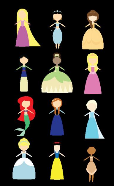 Disney Princess Icons Disney Icons Cute Disney Characters