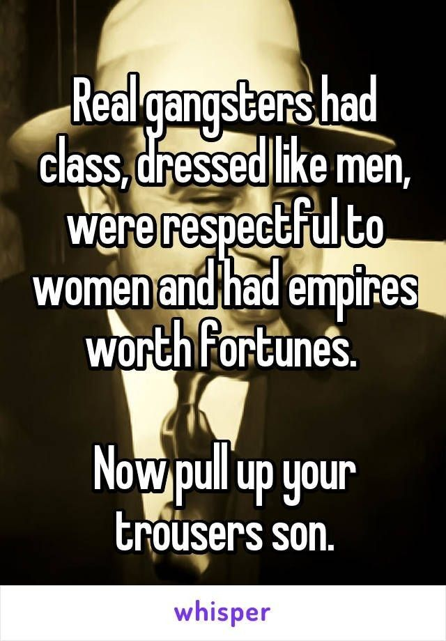 Pin by AStar Bright on mafia Real gangster, Whisper