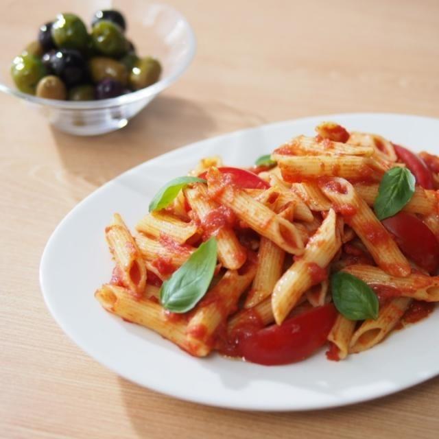 本格的に夏!爽やかなトマトの味が食欲を誘ってくれるー - 27件のもぐもぐ - 夏はトマト&パスタだねっ! by 168