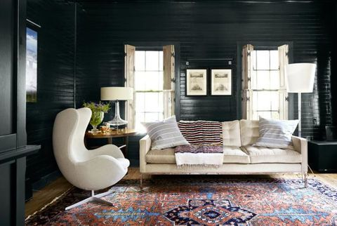15 Rooms That Prove Black Shiplap Is the New White Shiplap is part of Living Room Paint Fun - Come to the dark side