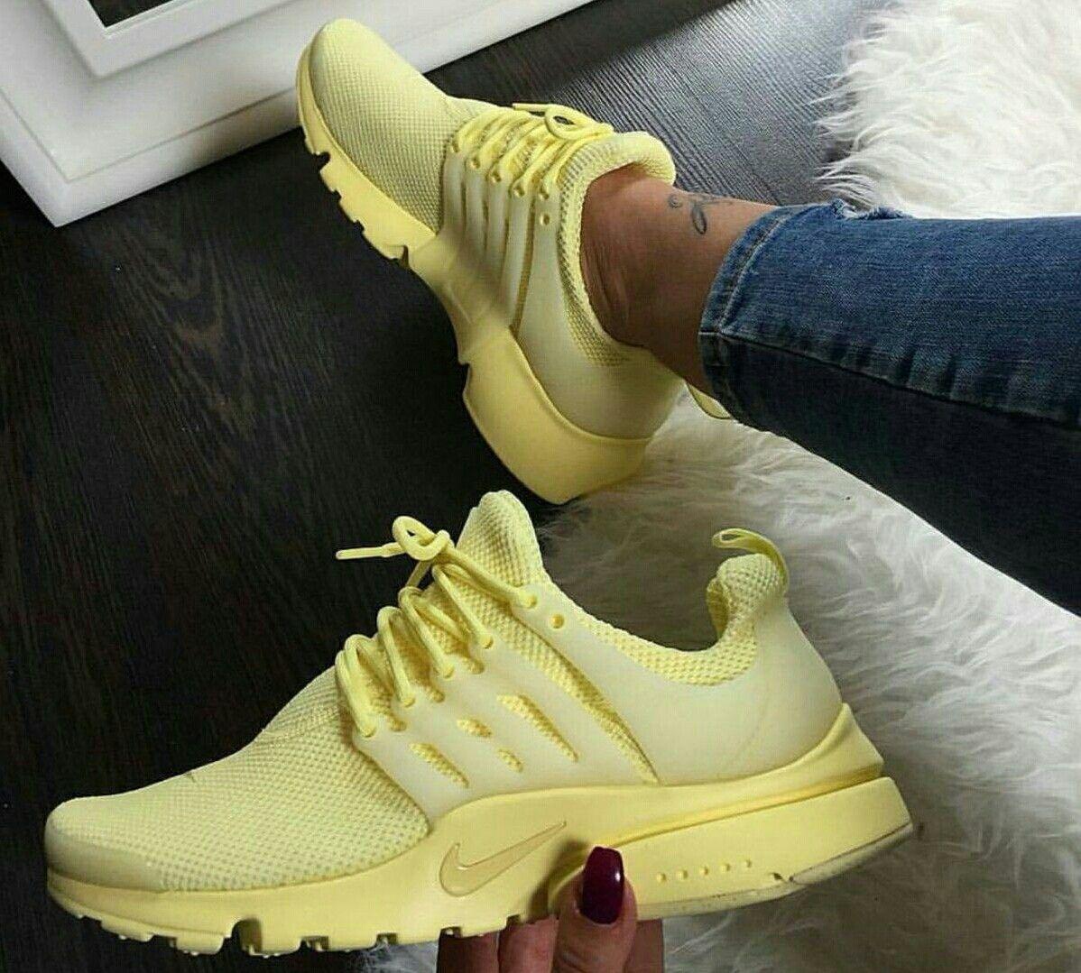 zapatillas nike amarillas mujer